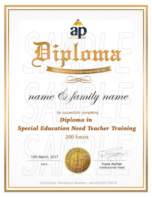 Diploma in Special Education Teacher Training